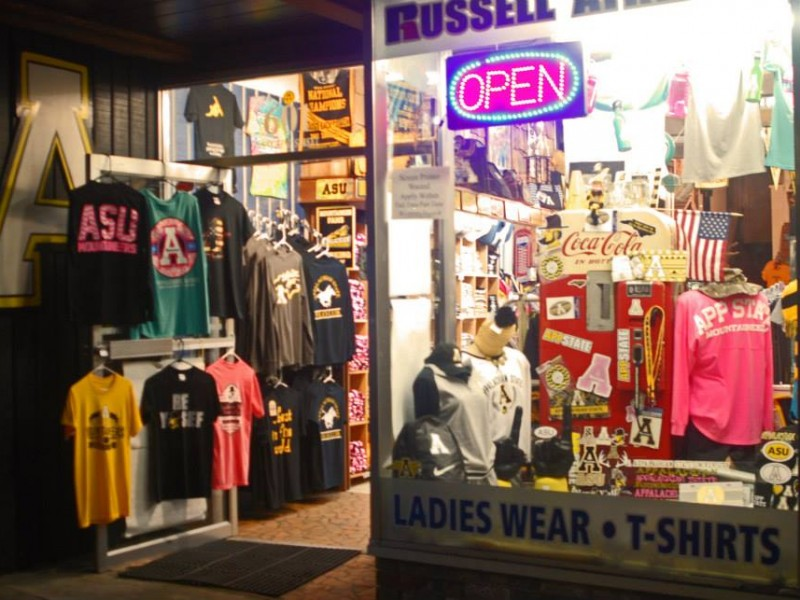 Appalachian Tees State Store Storefront
