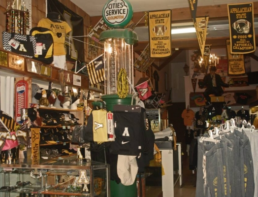 Appalachian State Store Has Plenty of Boone, NC Souvenirs
