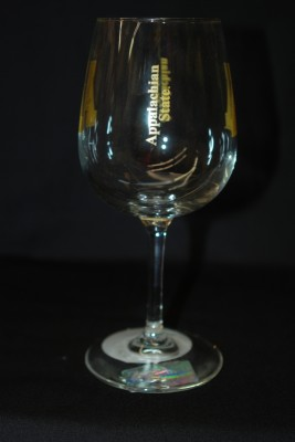App Logo and Text Wine Glass $12.95