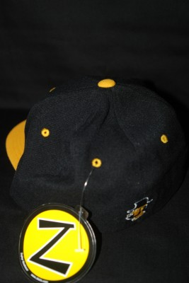 "Back 'A"" Logo Flat Bill w/ Modern Yosef Logo on Back Fitted Hat $21.95"