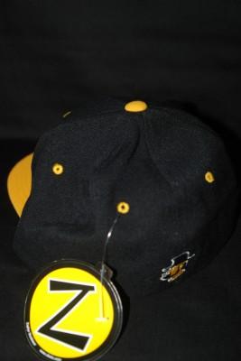 "Back 'A"" Logo Flat Bill w/ Modern Yosef Logo on Back Fitted Hat $21.95"