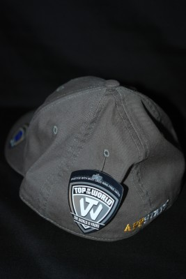 Back Basic 'A' Logo Fitted Hat $21.95