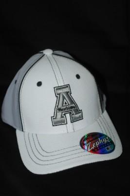 White 'A' Logo w/ Modern Yosef on Back Fiitted Hat $21.95