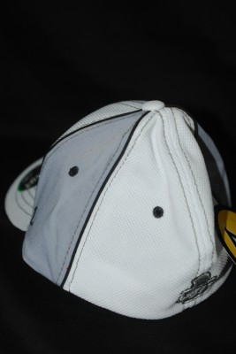 Back White 'A' Logo w/ Modern Yosef on Back Fiitted Hat $21.95