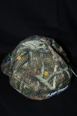 Back 'A' Logo Camo Fitted Hat $21.95