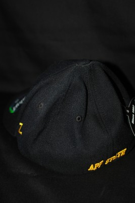 Back 'A' Logo w/ 'AS' Overlapping Text on Bill Fitted Hat $21.95