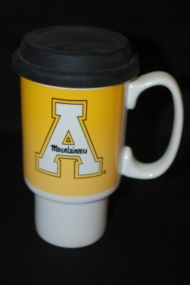 """Large Plastic Coffee Cup """"A"""" Logo $14.95"""
