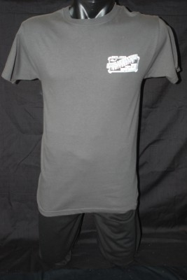 "Rustic ""Boone, NC"" Right Breast Patch Logo w/ Large Design on Back Tee $16.95"