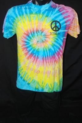 """Tye Dye """"Peace Love & Boone"""" Tee $20.95"""