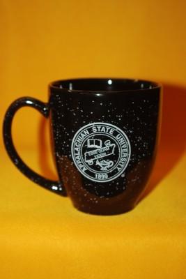 Black with white Flecks Mug $13.95