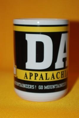 """""""Dad"""" App State Mug $13.95"""