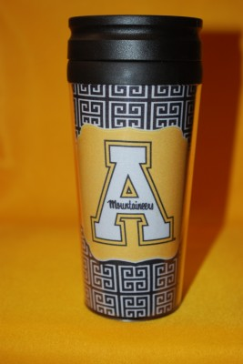 Unique Design App Logo Travel Mug $12.95