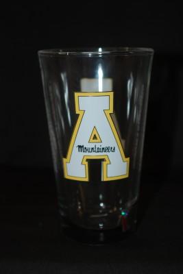 App Logo Glass Cup $12.95