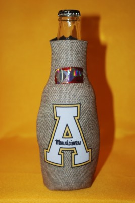 Grey App 'A' Logo Bottle Coozie $7.95