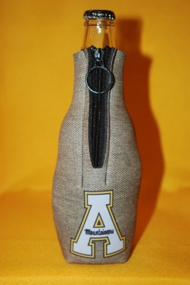 Grey Bottle Coozie $7.95