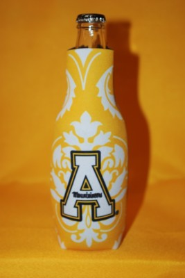 Unique Design Yellow Bottle Coozie $7.95