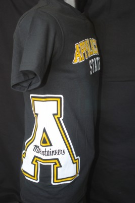 Large 'A' Logo on Side Tee $16.95