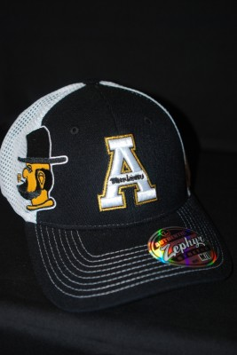 'A' Logo w/ Modern Yosef on Side Fitted Hat $21.95