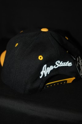 Back Modern Yosef Black and Gold Hat $22.95