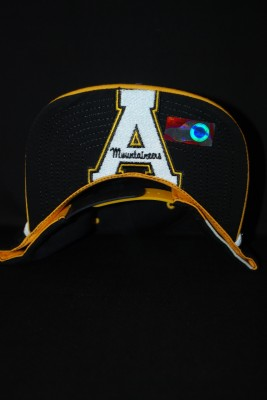 Under Bill Modern Yosef Black and Gold Hat $22.95