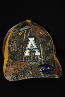 'A' Logo Fitted Camo Hat $21.95