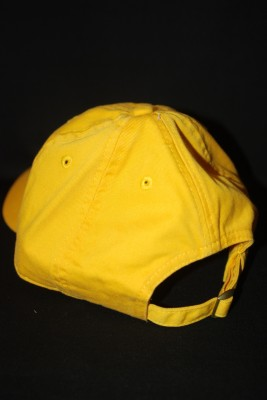 Back Yellow Basic 'A' Logo Hat $18.95