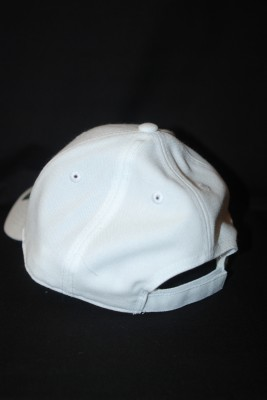 Back White Basic 'A' Logo Hat w/ Velcro Strap $18.95