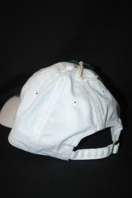 Back White Basic 'A' Logo Hat $18.95