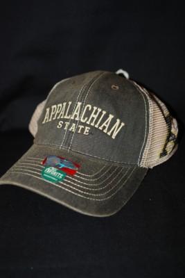 Appalachian State SnapBack Mesh/Worn $18.95