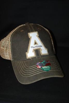 'A' Logo Mesh Rugged SnapBack $18.95