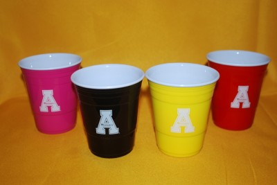 Multi-Colored Cups $5.95