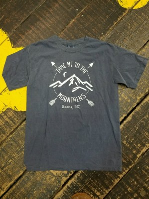 """Take me to the mountains"" Tee"