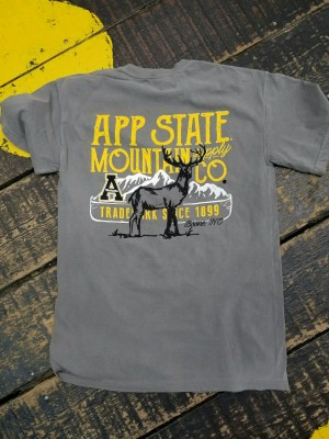 App State Mountain Co. Tee