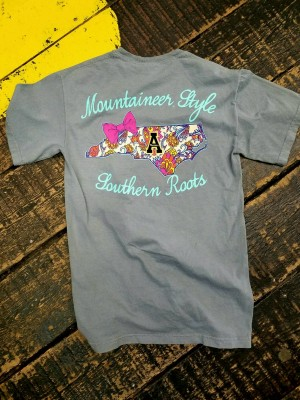 """Mountain Style Southern Roots"" Tee"
