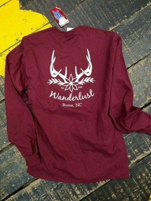 Wanderlust Long Sleeve Tee