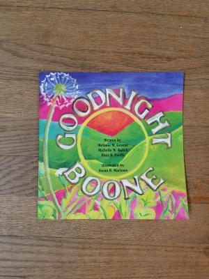 Goodnight Boone Book $12.95