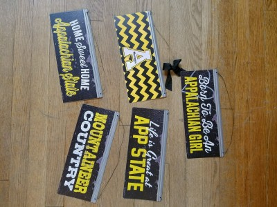App State Tin Signs $12.95