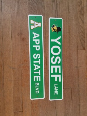 Plastic Road Signs $14.95