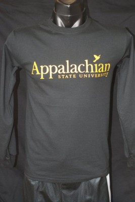 app state long sleeve black bird size small-3xl, 12.95