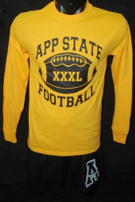 app state long sleeve football, size small-3xl, 14.95